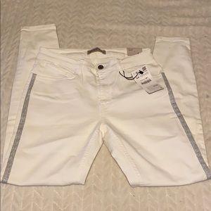 Zara Women's White Skinny Jeans